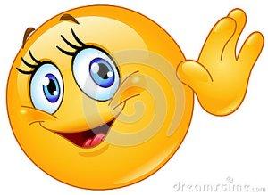 female-emoticon-waving-hello-design-32486807